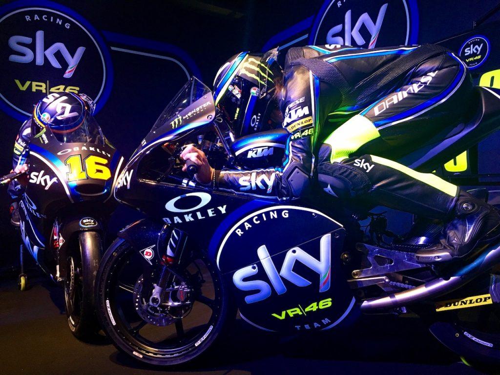 Sky Racing Team VR46: presentata a Milano la Stagione 2017