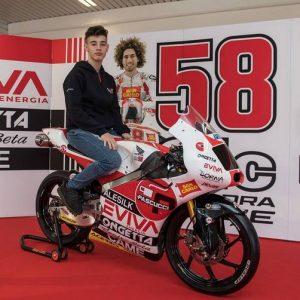 """Moto3: Tony Arbolino, """"I test sono andati bene, sono soddisfatto"""""""
