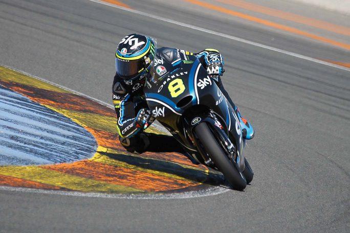 Test Valencia Day 1: Bulega e Nakagami i migliori delle classi Moto3 e Moto2