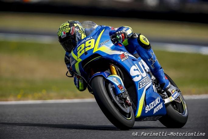 """MotoGP Test Phillip Island: Andrea Iannone, """"Partenza difficile, ma nel finale siamo migliorati"""""""