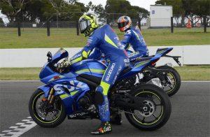 MotoGP: Andrea Iannone ha provato la nuova Suzuki GSX-R1000R