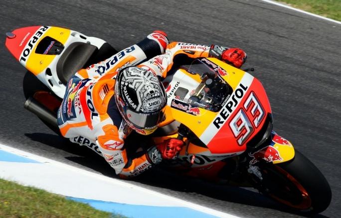 MotoGP Test Phillip Island: Marquez precede Rossi e Iannone, Lorenzo è 11°