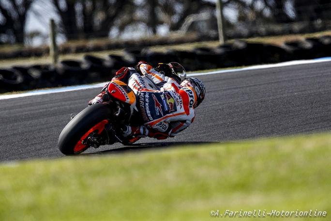 """MotoGP Test Phillip Island Day 2: Marquez, """"Non sono ancora al 100%, ma la strada è giusta"""""""