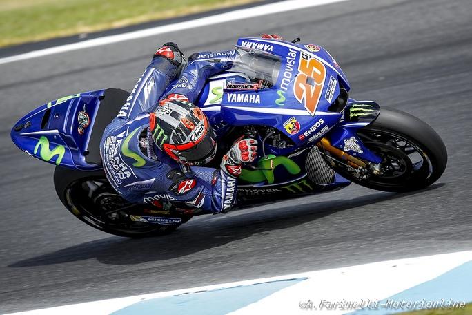"""MotoGP Test Phillip Island Day2: Vinales, """"Oggi abbiamo fatto un ottimo lavoro"""""""