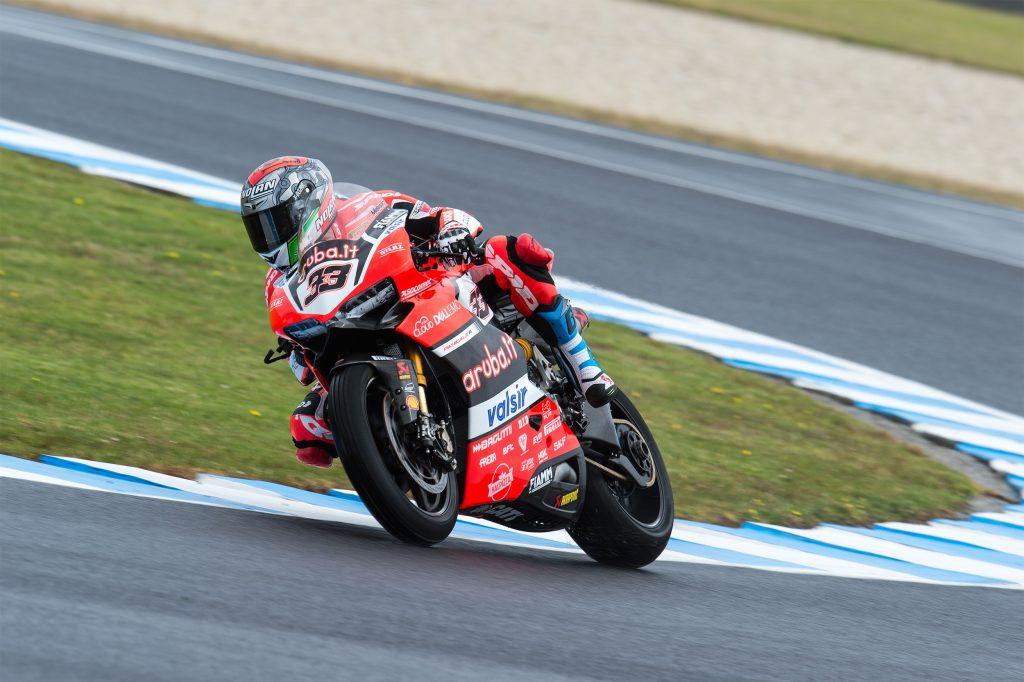 Superbike, test Phillip Island, Day 1: Melandri conclude con il terzo tempo