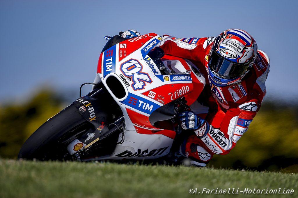 """MotoGP: Test Phillip Island Day 1, Andrea Dovizioso: """"Dobbiamo ancora migliorare a livello di bilanciamento e di set-up"""