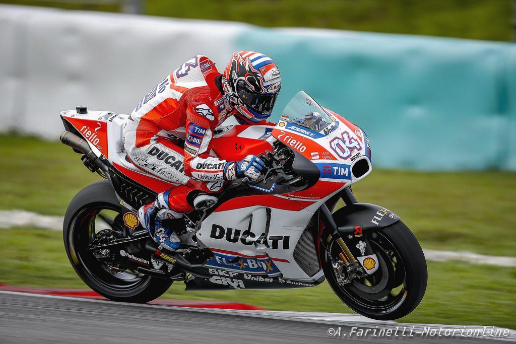 """MotoGP: Test Sepang Day 3, Andrea Dovizioso: """"Gli ingegneri hanno fatto un ottimo lavoro"""""""