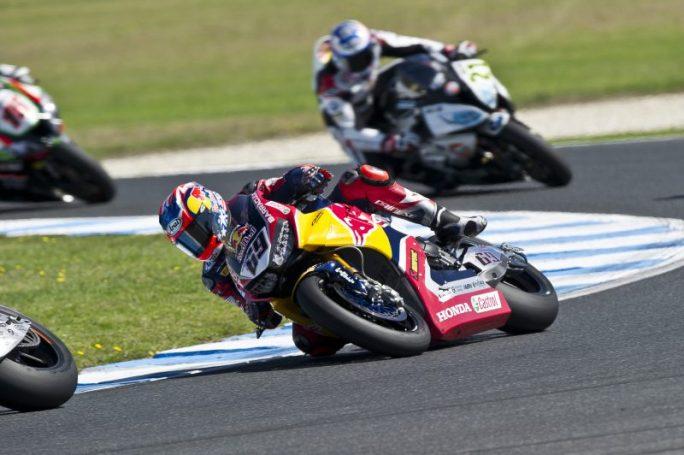 Superbike, Round Phillip Island, Gara2: fine settimana difficile per il team Red Bull Honda