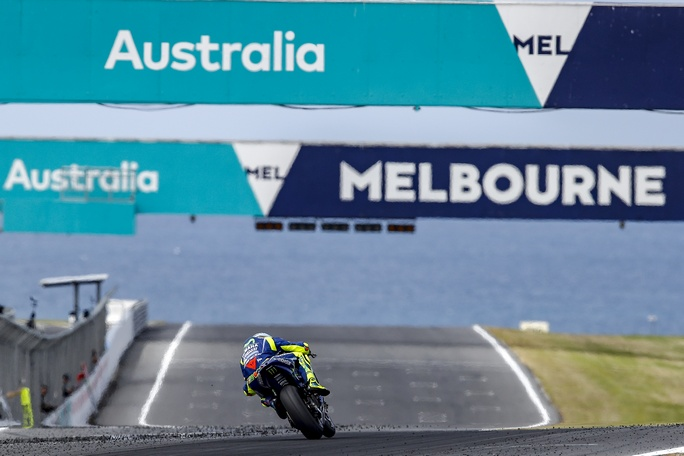 Moto GP, test a Phillip Island, Valentino Rossi: