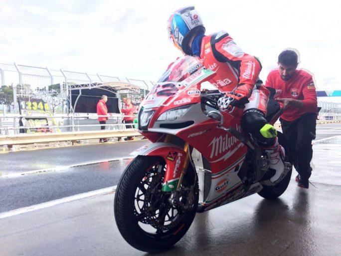 Superbike, test Phillip Island, Day 1: giornata impegnativa per il team Milwaukee