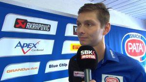 Superbike, Round Phillip Island, Gara2: Van der Mark parla del suo debutto in Yamaha