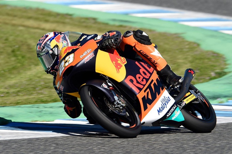 """Moto3 Test Jerez: Antonelli, """"Domani potremo essere più veloci"""""""