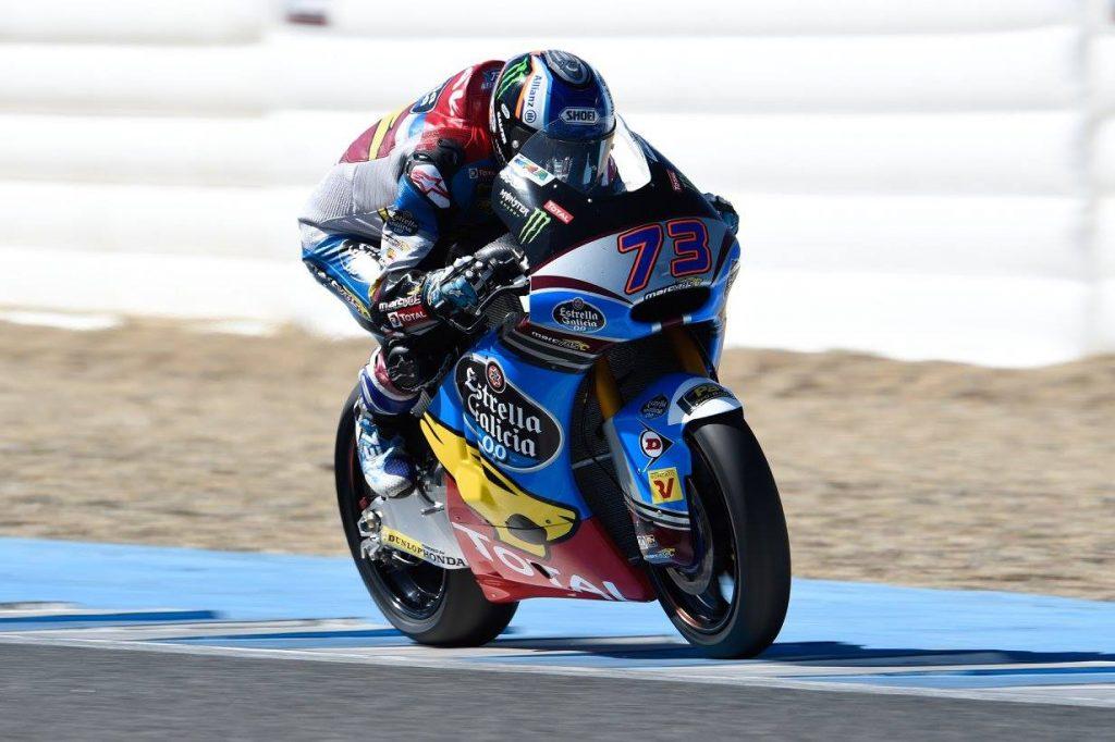 Moto2 Test Jerez Day 3: Marquez si conferma il più veloce