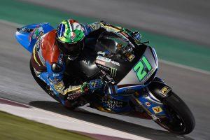 Moto2 Qatar Warm Up: Morbidelli domina l'ultima sessione prima del GP del Qatar
