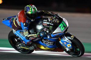 Moto2 Qatar, FP3: Morbidelli mette tutti in fila, Marquez insegue