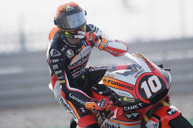 """Moto2 Test Qatar Day3: Marini, """"Il bilancio finale mi rende soddisfatto, ma dobbiamo ancora lavorare"""""""