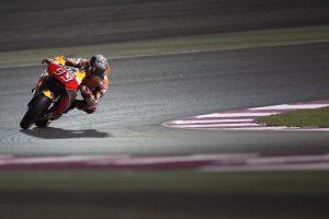 """MotoGP Test Qatar Day 1: Marquez, """"Sono scivolato due volte, ma non sono preoccupato"""""""