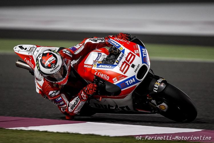 """MotoGP Test Qatar Day 3: Lorenzo, """"Oggi è stata una giornata decisamente più positiva delle prime due"""""""