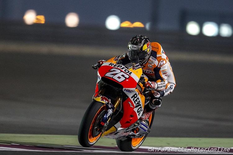 """MotoGP Test Qatar Day 3: Pedrosa, """"Questa pista non è una delle mie preferite, ma la squadra ha fatto un ottimo lavoro"""""""
