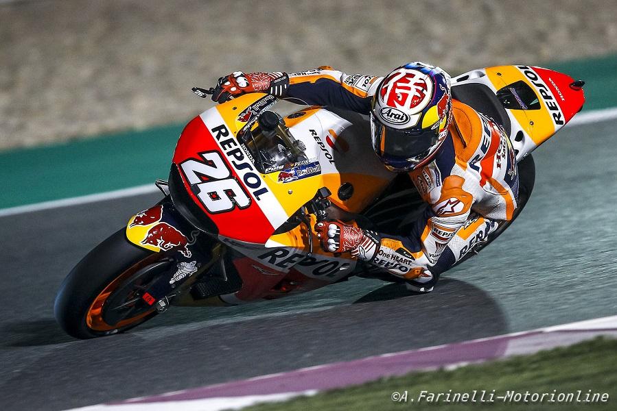 """MotoGP Qatar Day 2: Pedrosa, """"Oggi  non era il giorno migliore per ottenere un buon feedback"""""""