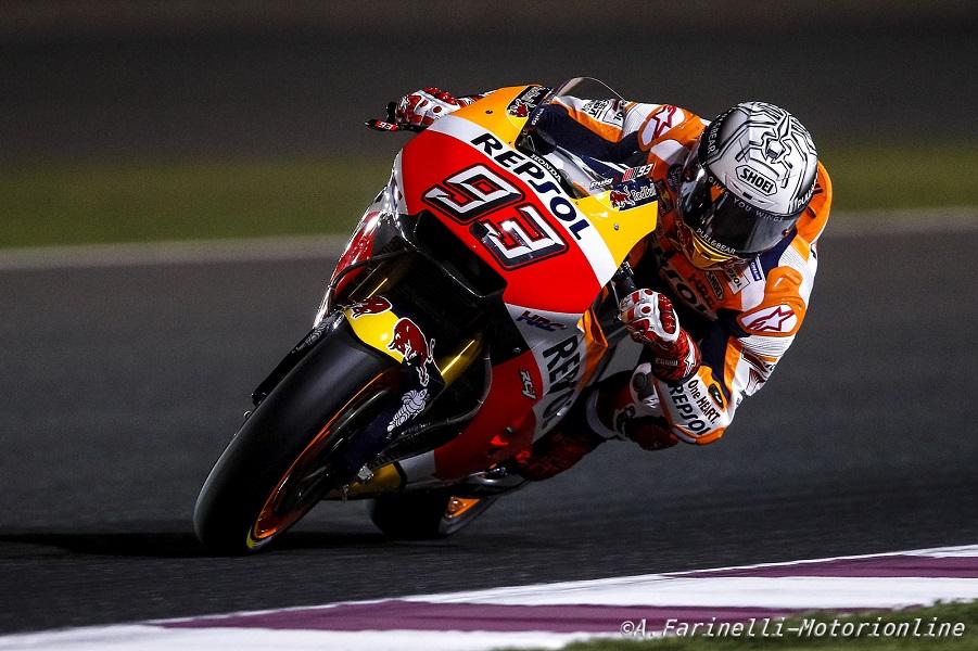 "MotoGP Qatar Day 2: Marquez, ""Scappare al via con Vinales sarebbe un bene"""