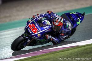 MotoGP Qatar, Qualifiche: Vinales si aggiudica la pole senza scendere in pista