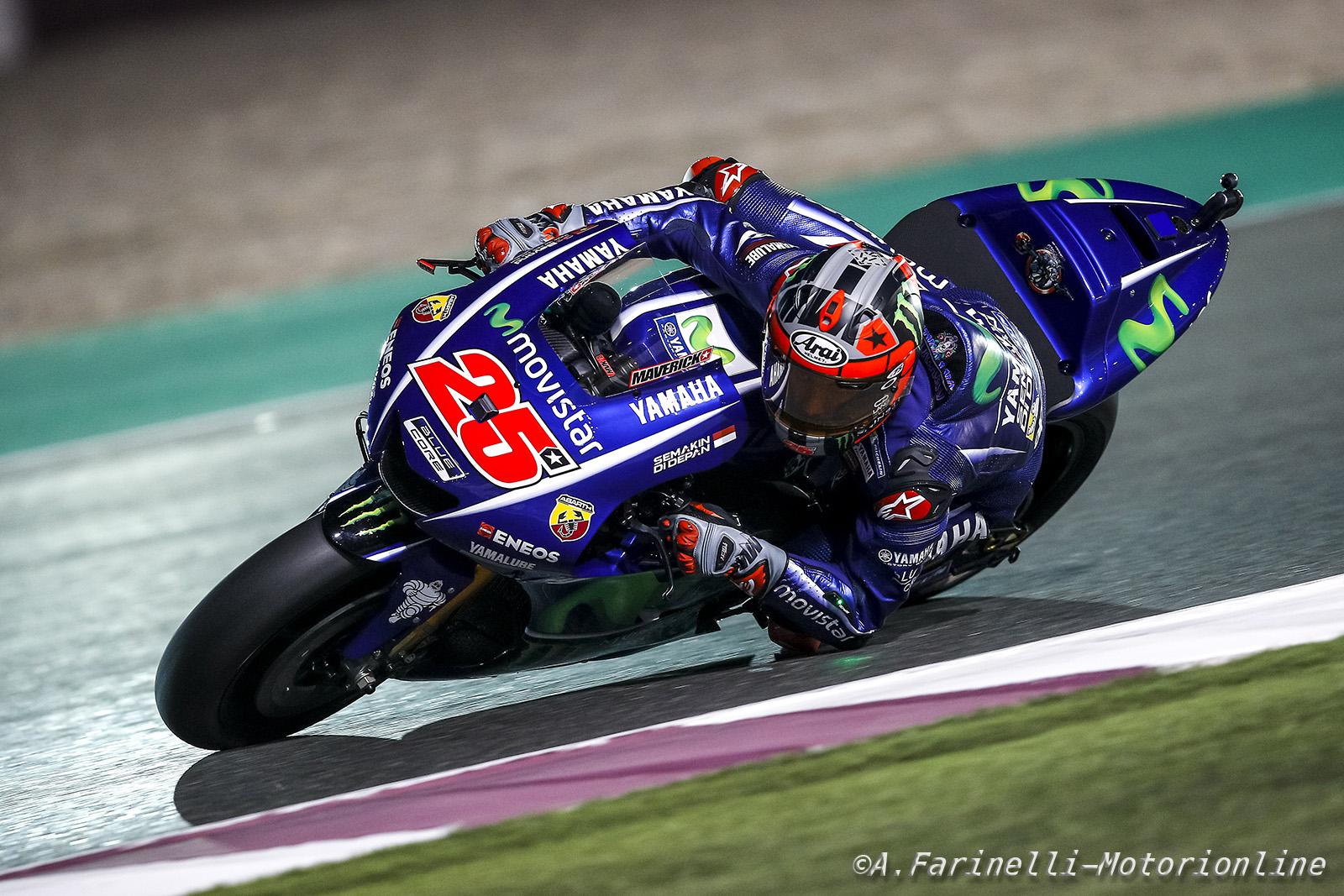 MotoGP Qatar, Qualifiche: Vinales si aggiudica la pole senza scendere in pista - Notizie sul ...
