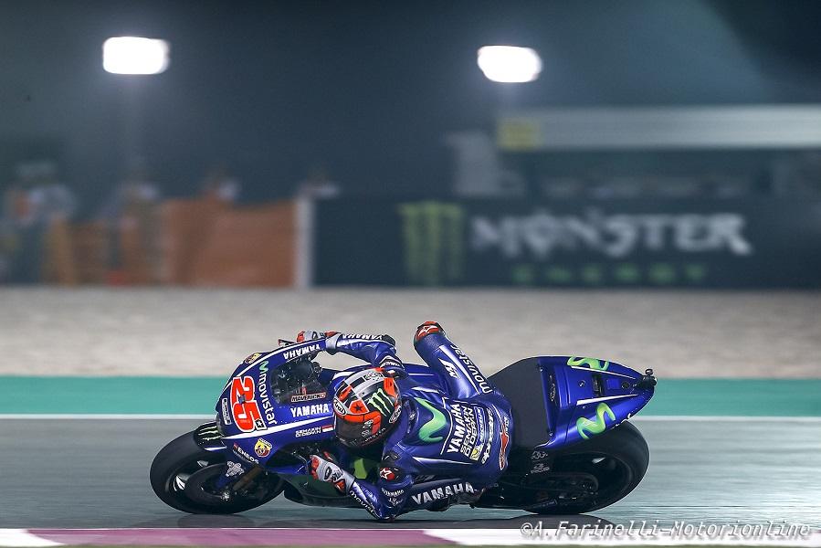 """MotoGP Qatar Gara: Vinales, """"Oltre alla felicità, porto a casa un lavoro incredibile"""""""