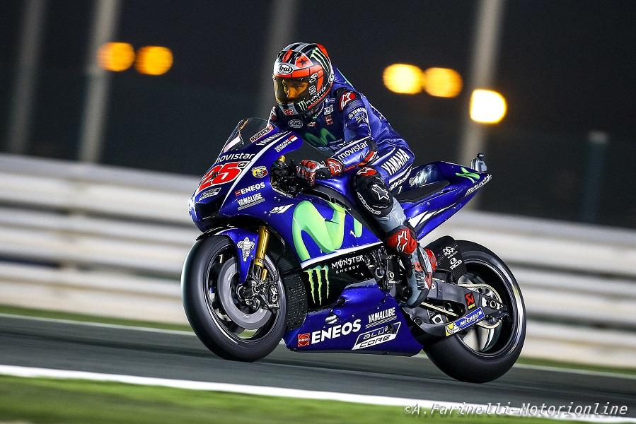 MotoGP Qatar Gara: Vinales la spunta a Losail, che gara DesmoDovi 2°, redivivo Rossi 3°