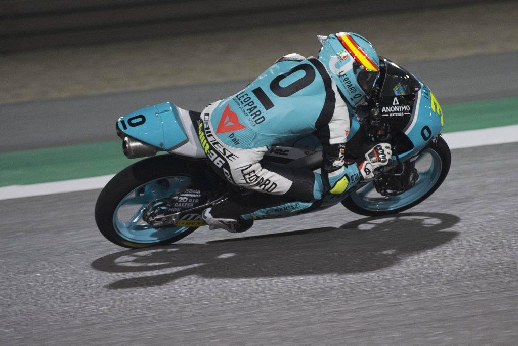 Moto3 Qatar Warm Up: Mir chiude al comando su pista umida