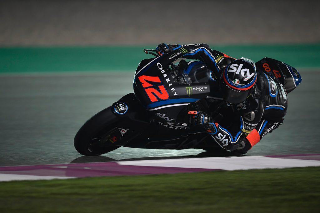Moto2 Qatar, FP2: Straordinario Bagnaia chiude al comando l'ultima sessione