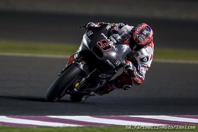 "MotoGP Test Qatar Day 3: Petrucci, ""Fiducioso dopo il long-run"""