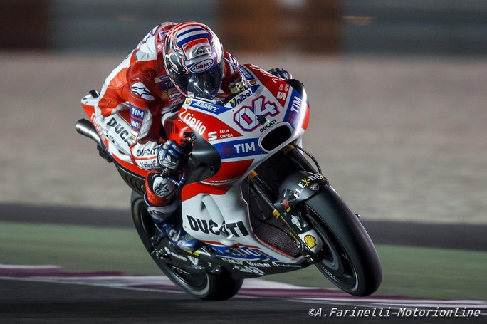 """MotoGP Preview Qatar: Dovizioso, """"Punto ad un posto sul podio"""""""