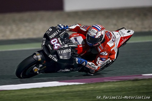MotoGP analisi Test Qatar