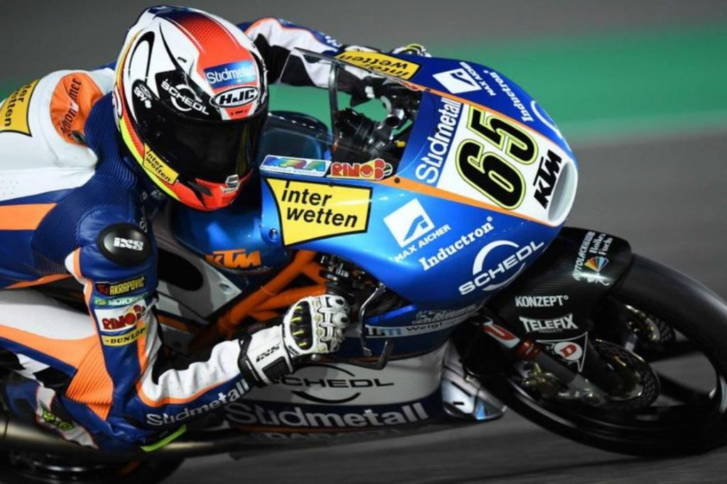 Moto3, Gran Premio Qatar: Fenati partirà dalla 3° posizione