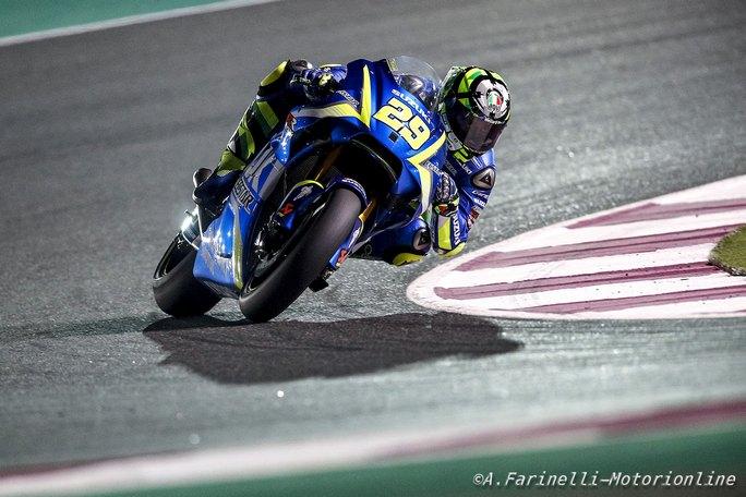 """MotoGP Qatar Day 2: Iannone, """"Sono contento, ma c'è ancora da lavorare"""""""