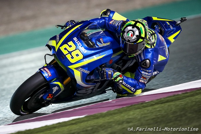 """MotoGP Qatar: Iannone, """"Ho sbagliato, chiedo scusa alla Suzuki"""""""