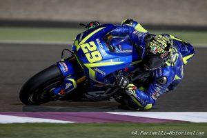 """MotoGP Test Qatar Day 2: Iannone, """"Nonostante la posizione in classifica, si può pensare positivo"""""""