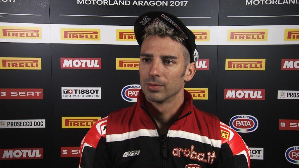 Superbike, Pirelli Aragon Round, FP: passi avanti per Marco Melandri