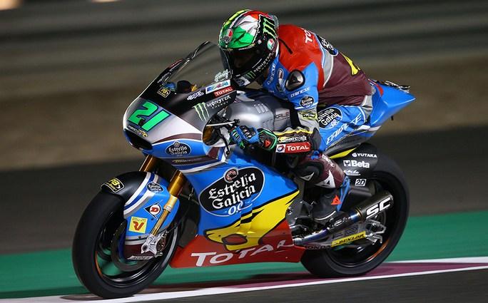 """Moto2 Qatar Day 2: Morbidelli, """"Sono stato subito veloce"""""""