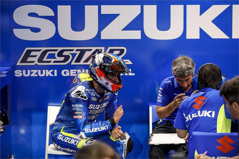 MotoGP, infortunio per Rins: Argentina a rischio?