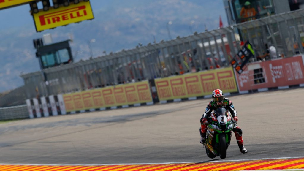 Superbike, Pirelli Aragon Round FP2: Jonathan Rea chiude al vertice le libere