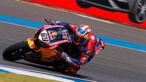 Superbike, Motul Thai Round, Gara2: ancora un fine settimana complicato per Red Bull Honda