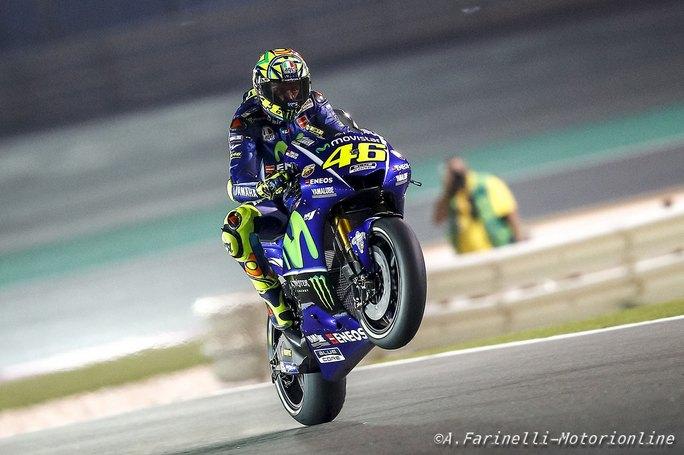 """MotoGP Qatar Day 2: Rossi, """"E' il momento di restare uniti"""""""