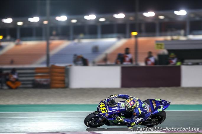 "MotoGP Qatar: Rossi, ""Podio molto importante"""
