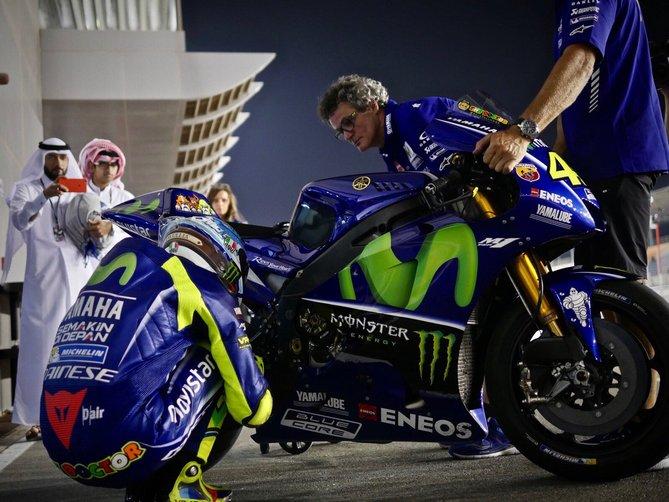 """MotoGP Test Qatar Day 1: Rossi, """"Non siamo ancora a posto"""""""