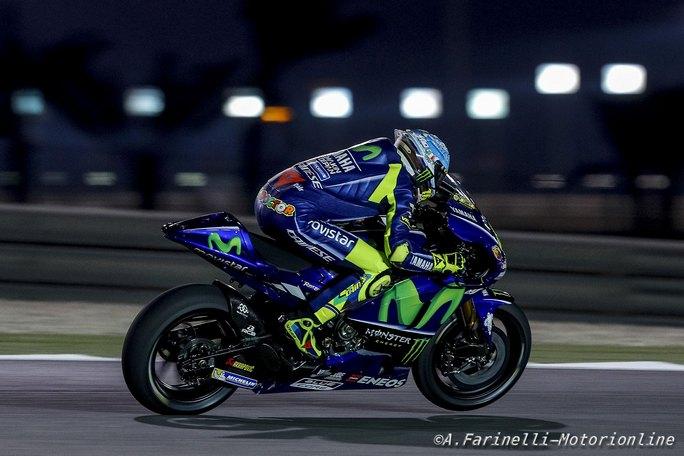 """MotoGP Test Qatar Day 2: Rossi, """"Secondo tempo che fa bene al morale"""""""
