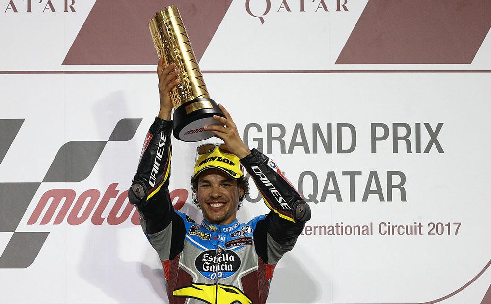 """Moto2 Qatar Gara: Morbidelli, """"Questa prima vittoria è una grande soddisfazione"""""""