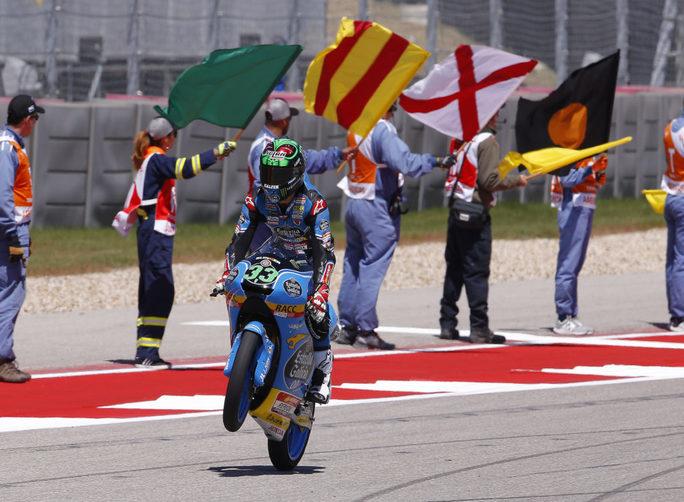 Moto2, ancora Morbidelli! Tris del pilota italiano a Austin