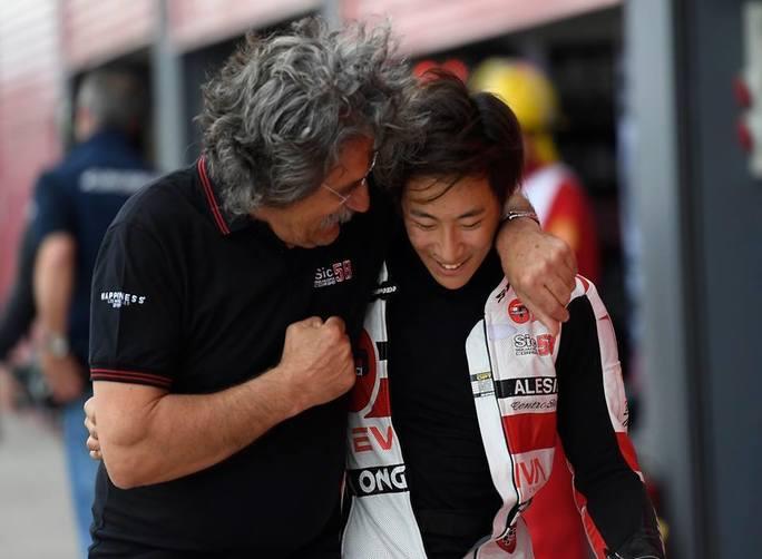 Moto3 Argentina Gara: buona prestazione per il team Sic58